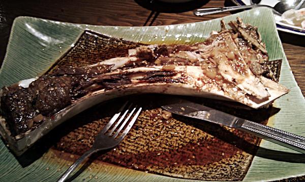 マグロの大カマ焼き